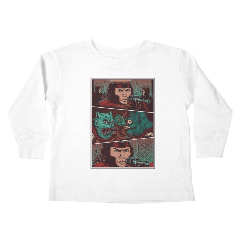 Comics Kids Toddler Longsleeve T-Shirt by arisuber's Artist Shop