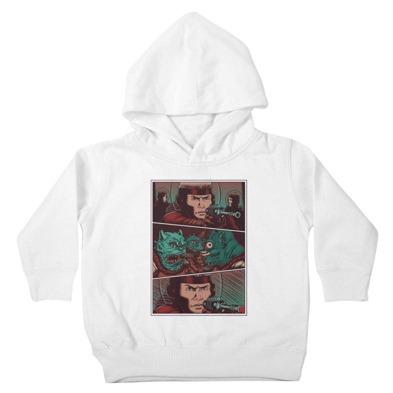 Comics Kids Toddler Pullover Hoody by arisuber's Artist Shop