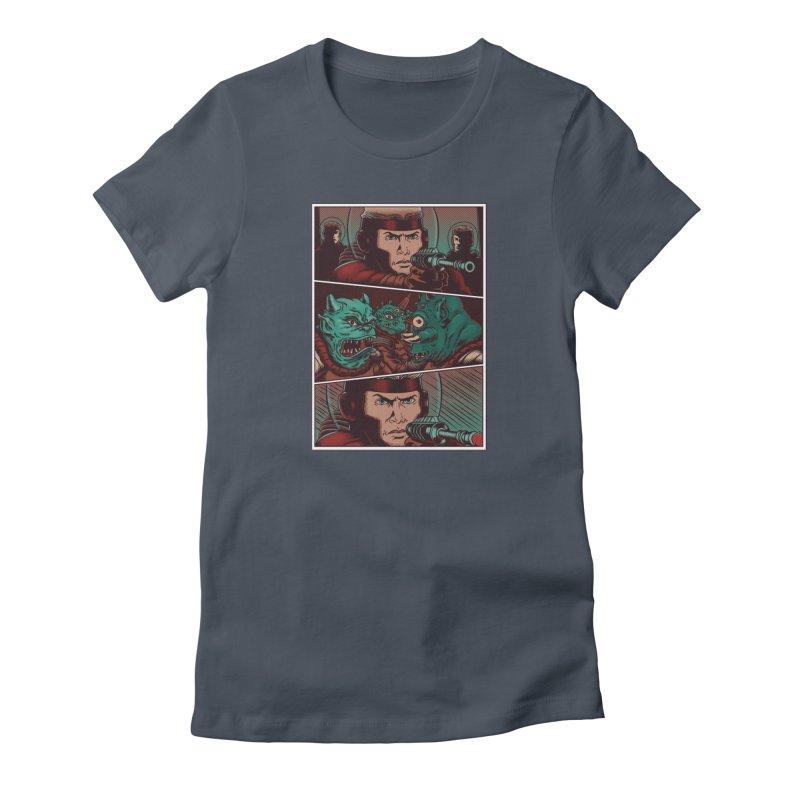 Comics Women's T-Shirt by arisuber's Artist Shop