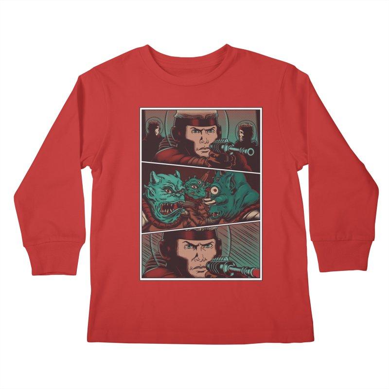 Comics Kids Longsleeve T-Shirt by arisuber's Artist Shop