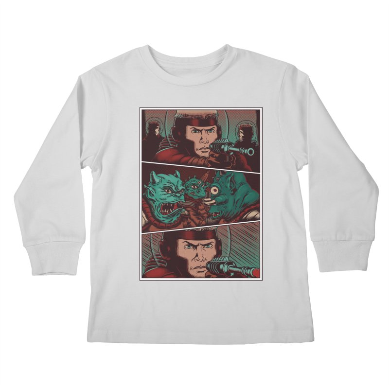 Comics Kids Longsleeve T-Shirt by arisuber's Artist Shop