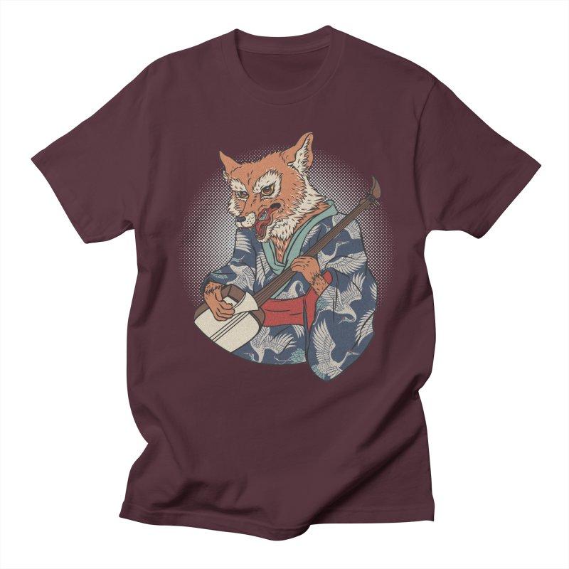 Kicune Men's Regular T-Shirt by arisuber's Artist Shop