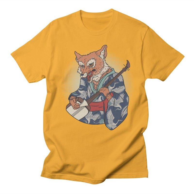 Kicune Men's T-shirt by arisuber's Artist Shop