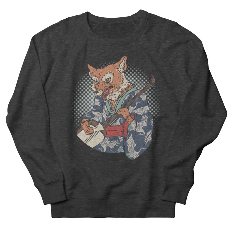 Kicune Men's Sweatshirt by arisuber's Artist Shop