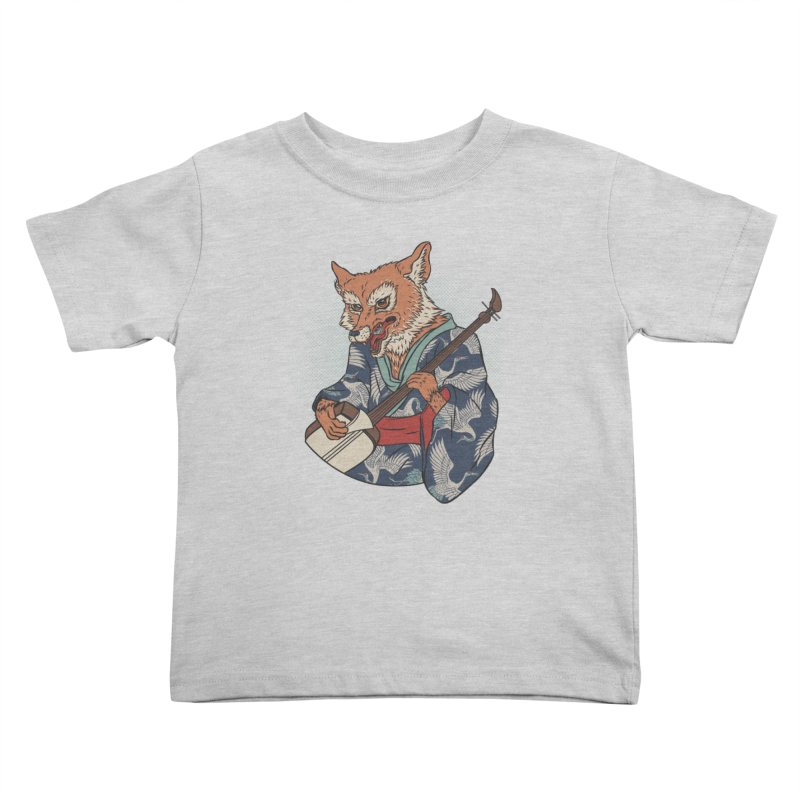 Kicune Kids Toddler T-Shirt by arisuber's Artist Shop