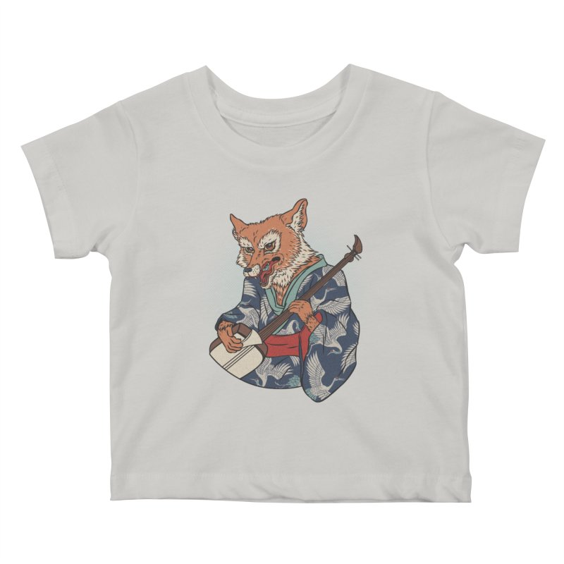 Kicune Kids Baby T-Shirt by arisuber's Artist Shop