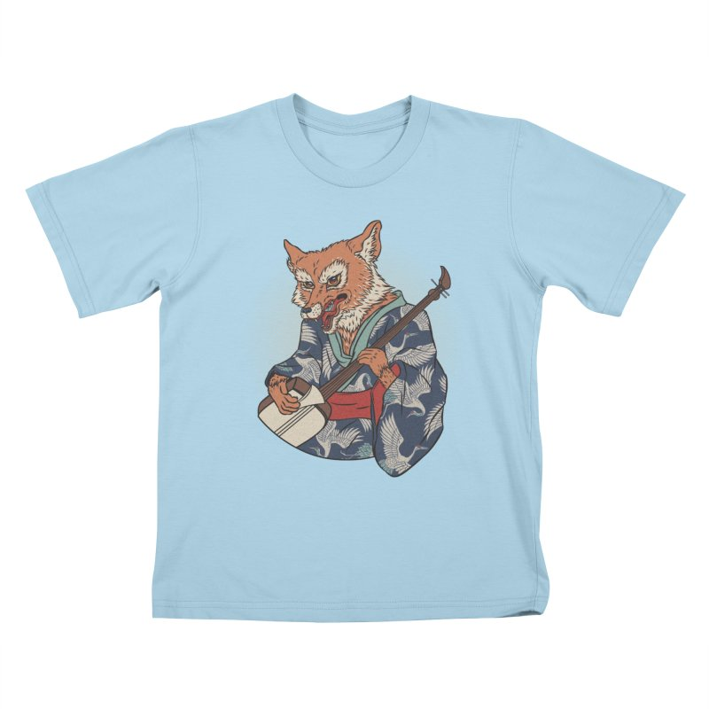 Kicune Kids T-shirt by arisuber's Artist Shop