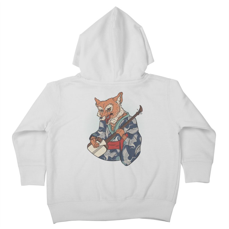 Kicune Kids Toddler Zip-Up Hoody by arisuber's Artist Shop