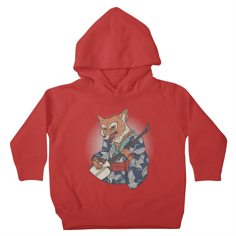 Kicune Kids Toddler Pullover Hoody by arisuber's Artist Shop