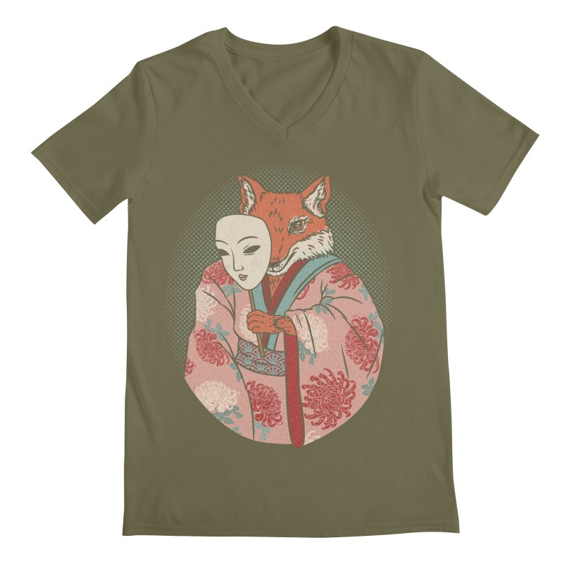 Succubus Men's V-Neck by arisuber's Artist Shop