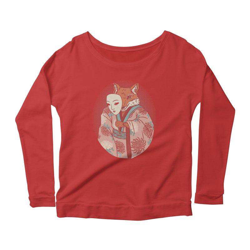 Succubus Women's Scoop Neck Longsleeve T-Shirt by arisuber's Artist Shop