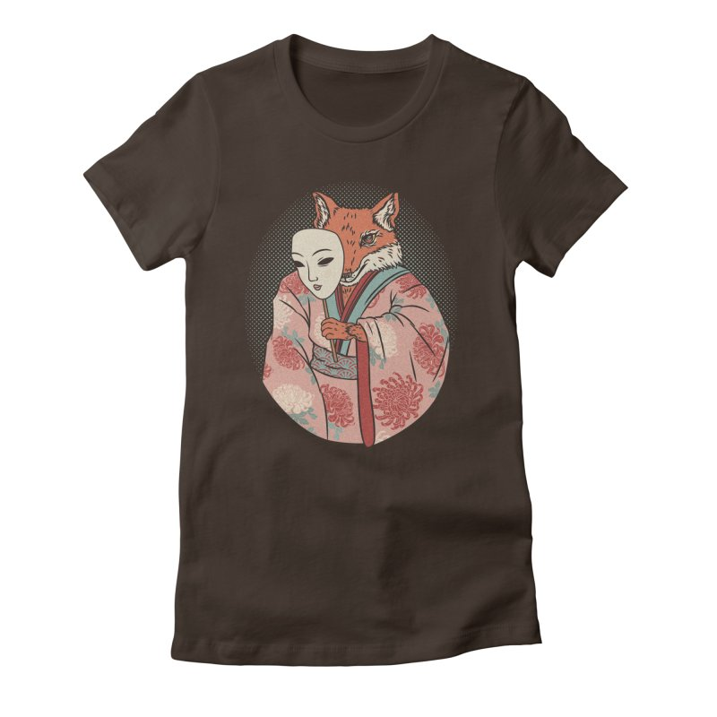 Succubus Women's Fitted T-Shirt by arisuber's Artist Shop