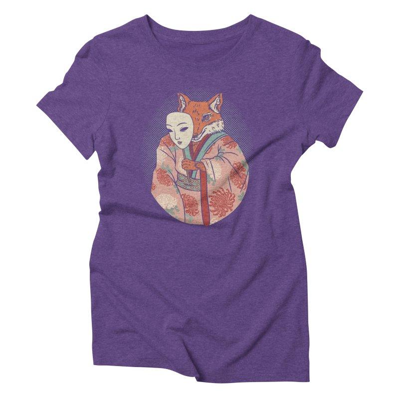 Succubus Women's Triblend T-shirt by arisuber's Artist Shop