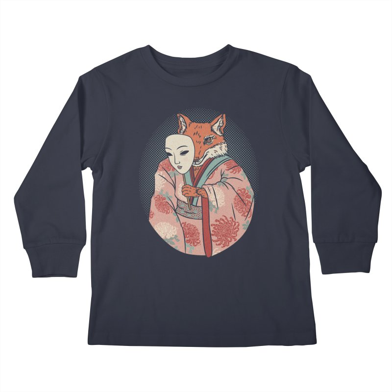 Succubus Kids Longsleeve T-Shirt by arisuber's Artist Shop