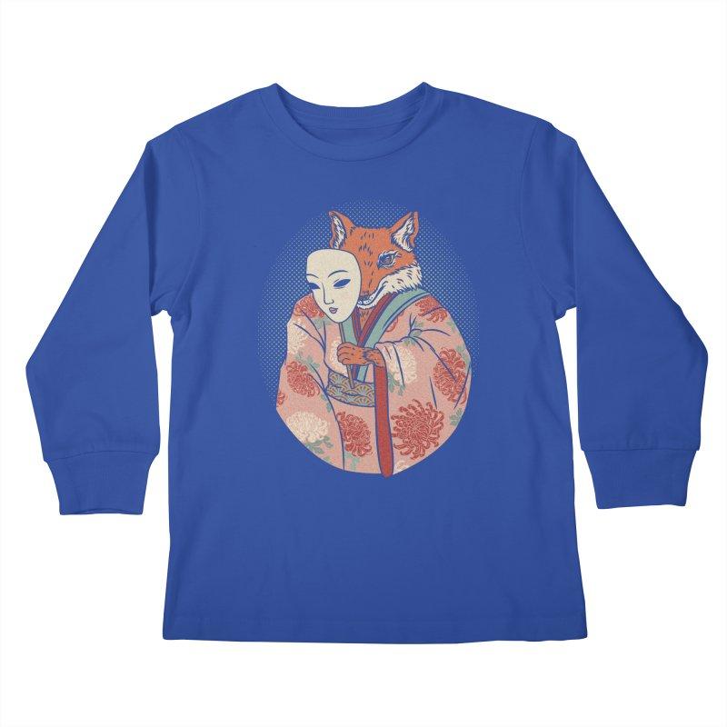 Succubus Kids Longsleeve T-Shirt by arisuber's Artist Shop