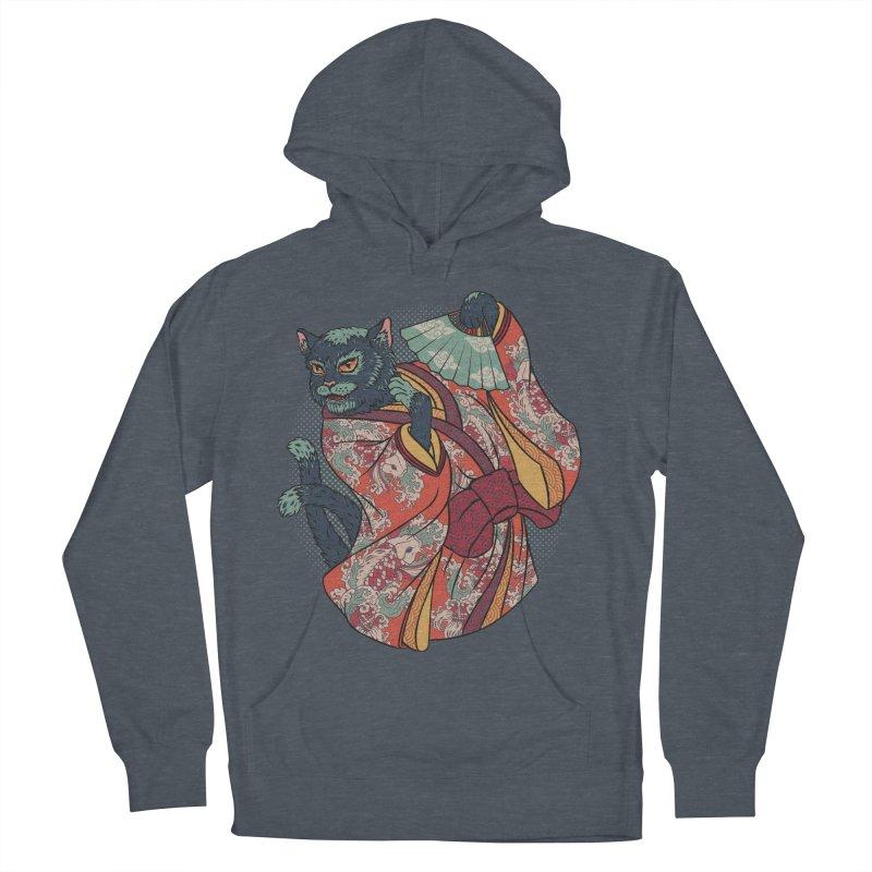 Bakeneko Women's Pullover Hoody by arisuber's Artist Shop