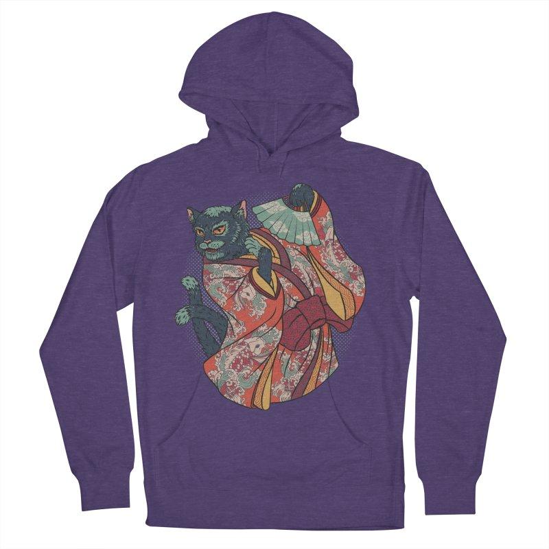 Bakeneko Men's Pullover Hoody by arisuber's Artist Shop