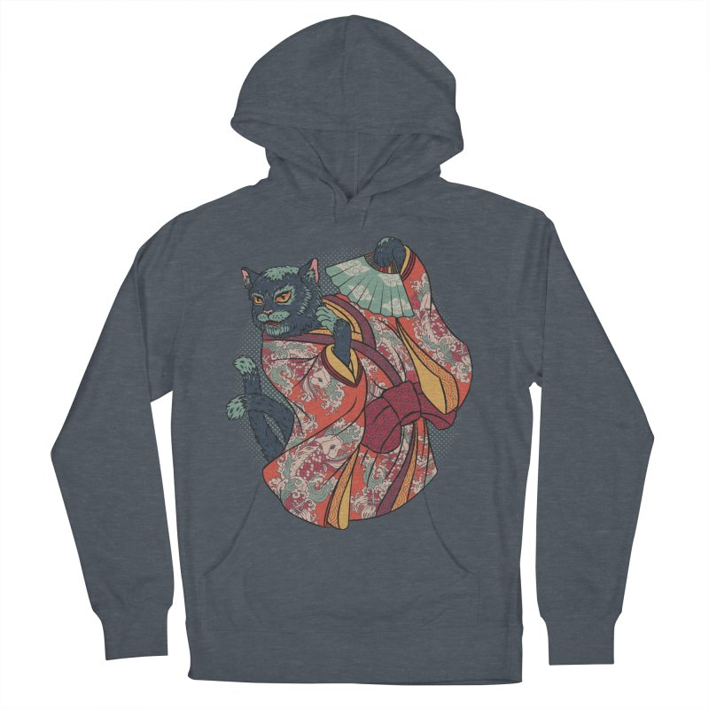 Bakeneko Men's Pullover Hoody by arisuber's Artist Shop