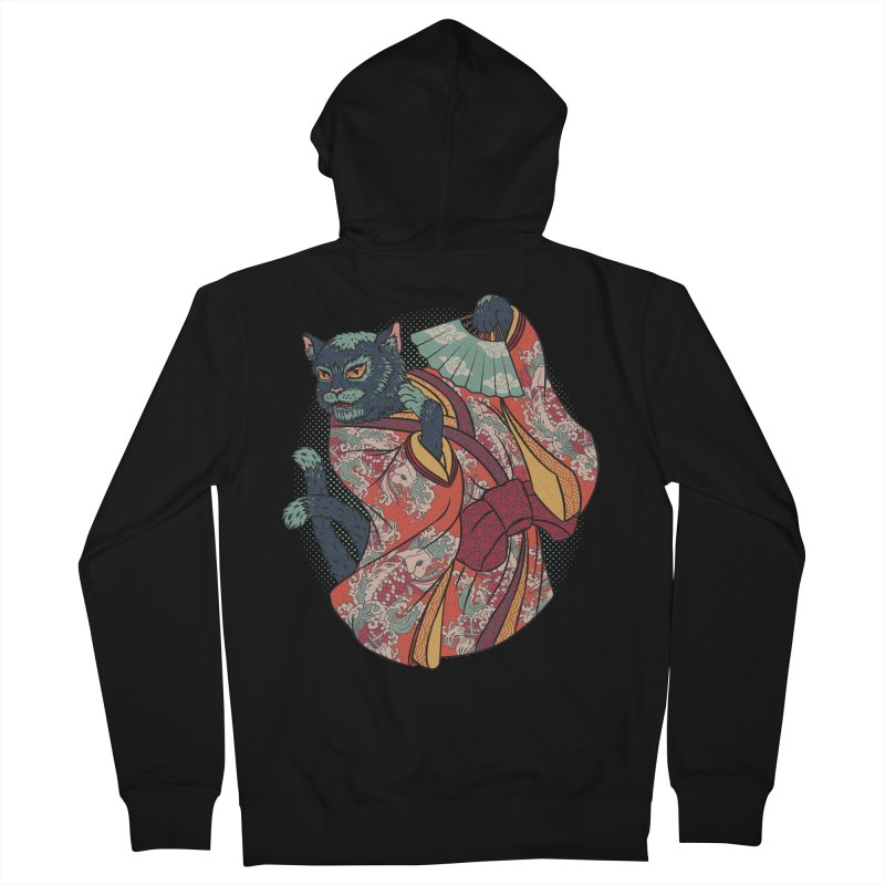 Bakeneko Women's Zip-Up Hoody by arisuber's Artist Shop