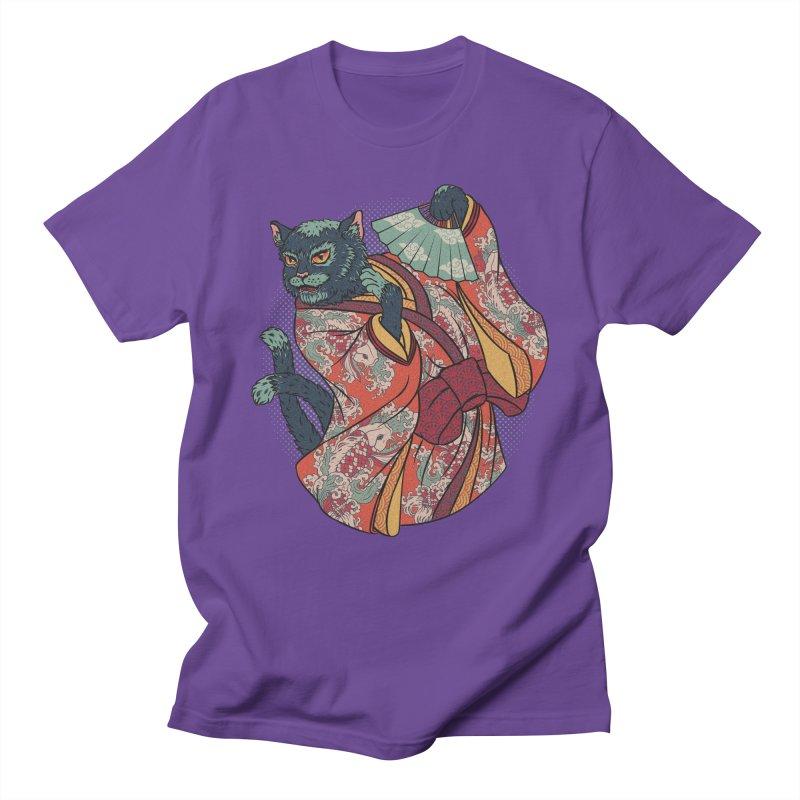 Bakeneko Men's T-shirt by arisuber's Artist Shop