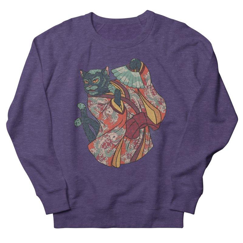 Bakeneko Women's French Terry Sweatshirt by arisuber's Artist Shop