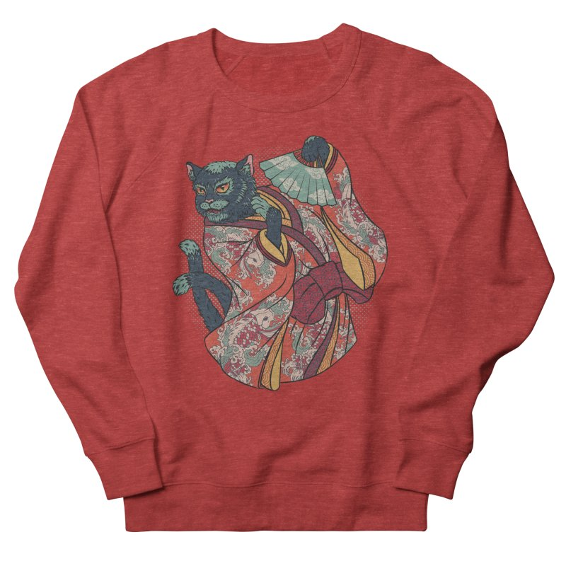 Bakeneko Women's Sweatshirt by arisuber's Artist Shop