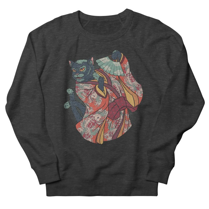 Bakeneko Men's Sweatshirt by arisuber's Artist Shop