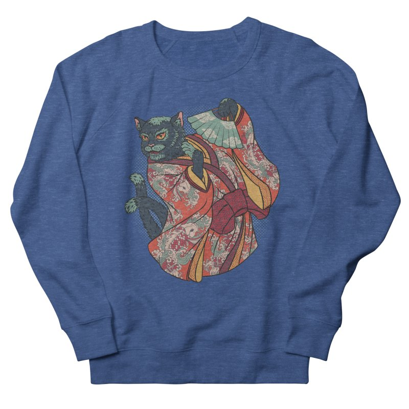 Bakeneko Men's French Terry Sweatshirt by arisuber's Artist Shop