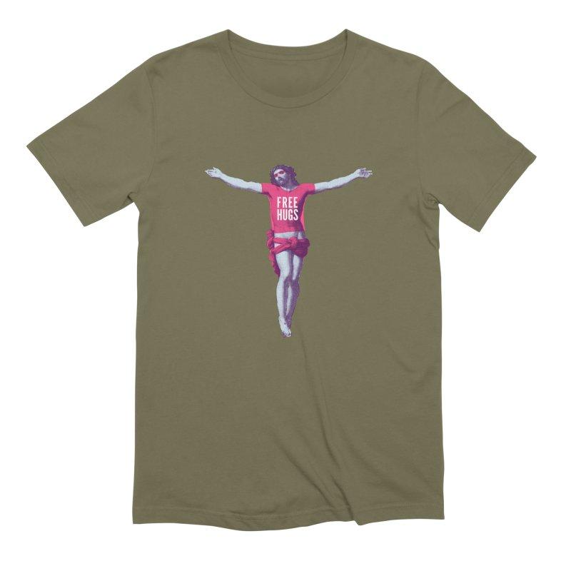Free hugs Men's Extra Soft T-Shirt by Arkady's print shop