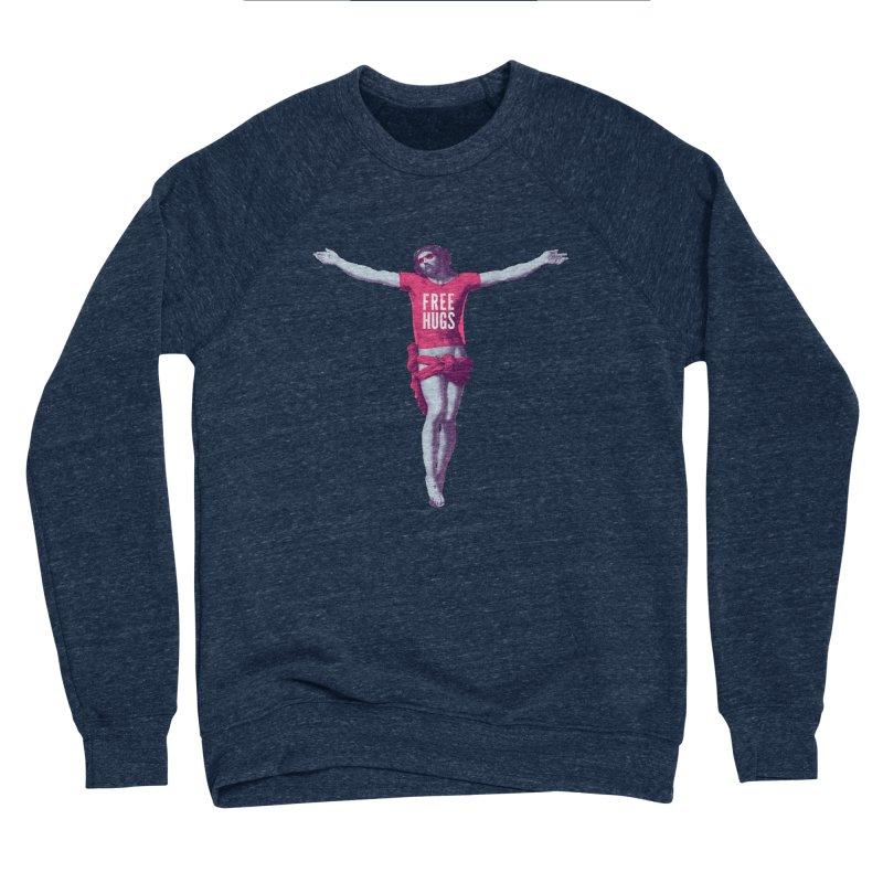 Free hugs Men's Sponge Fleece Sweatshirt by Arkady's print shop