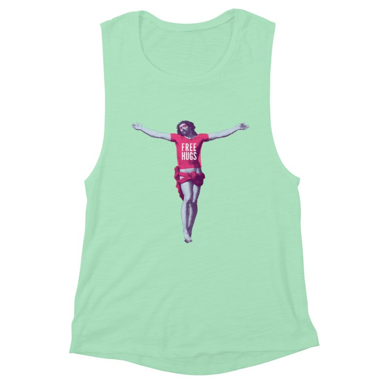 Free hugs Women's Tank by Arkady's print shop