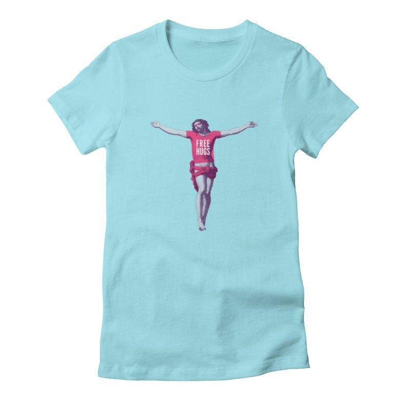 Free hugs Women's T-Shirt by Arkady's print shop