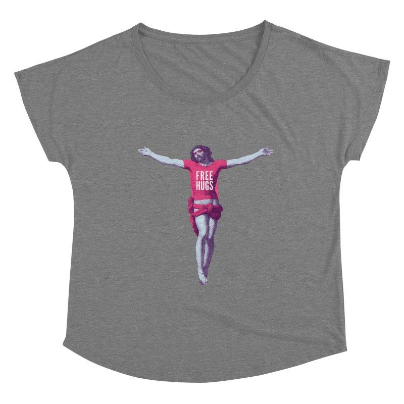 Free hugs Women's Scoop Neck by Arkady's print shop