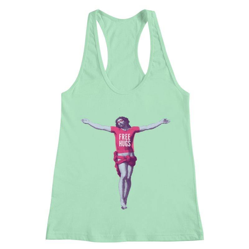 Free hugs Women's Racerback Tank by Arkady's print shop