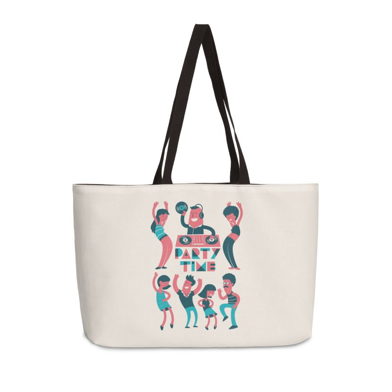 PARTY TIME!!! Accessories Bag by Arkady's print shop