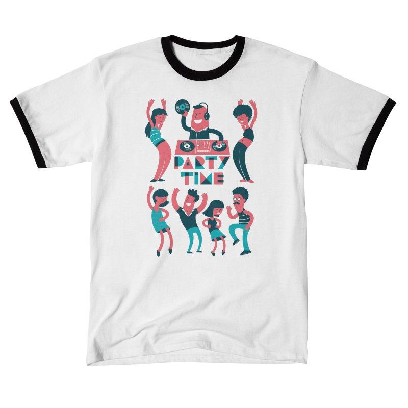 PARTY TIME!!! Men's T-Shirt by Arkady's print shop