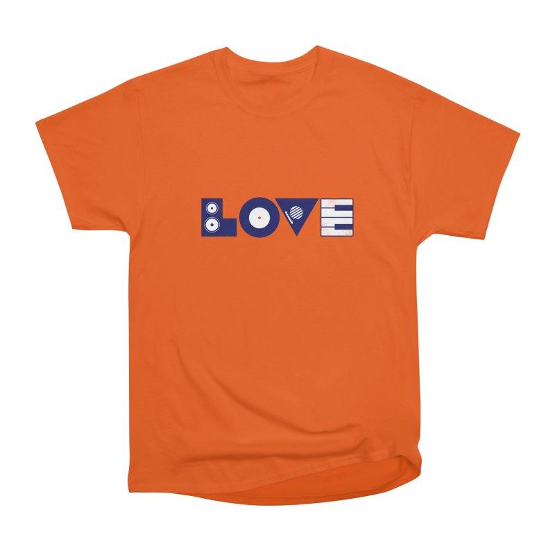 Love Music Women's T-Shirt by Arkady's print shop