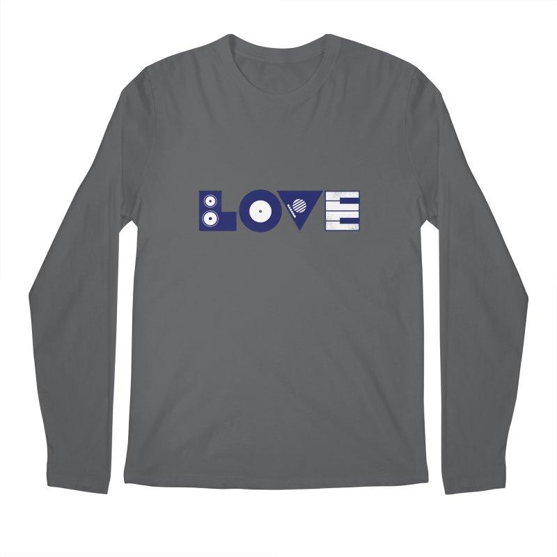 Love Music Men's Longsleeve T-Shirt by Arkady's print shop