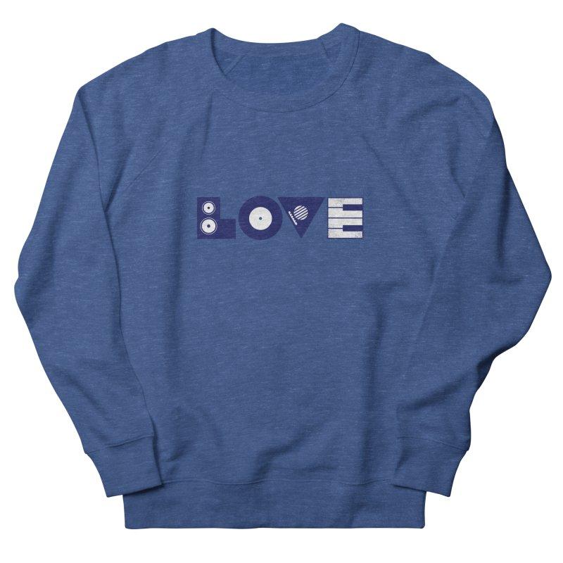 Love Music Women's Sweatshirt by Arkady's print shop