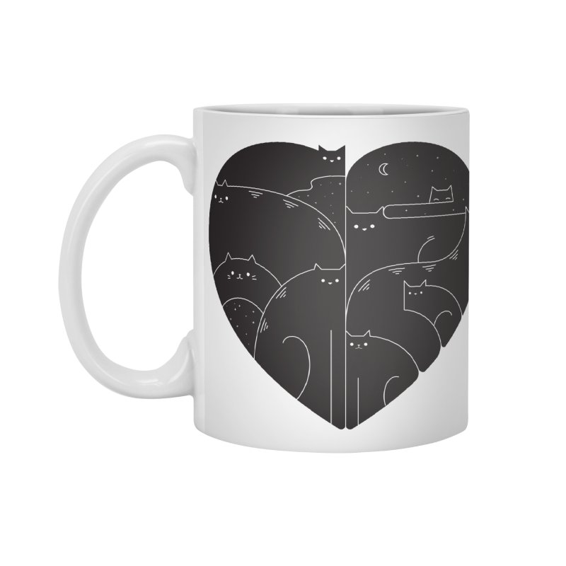 Love cats Accessories Mug by Arkady's print shop