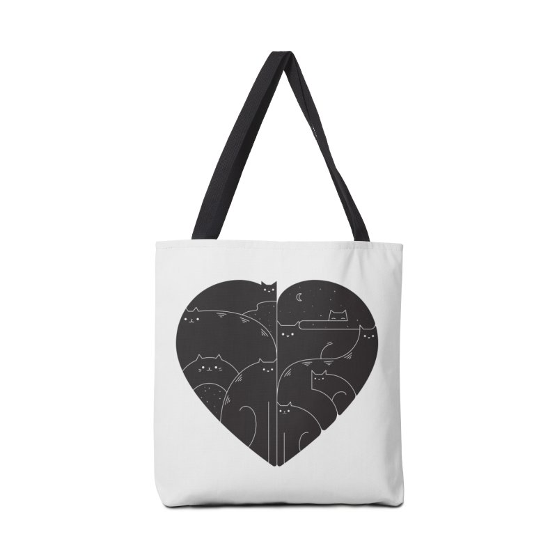 Love cats Accessories Tote Bag Bag by Arkady's print shop