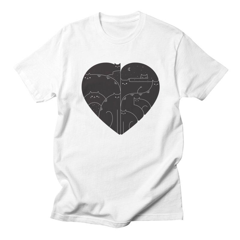 Love cats Men's T-Shirt by Arkady's print shop