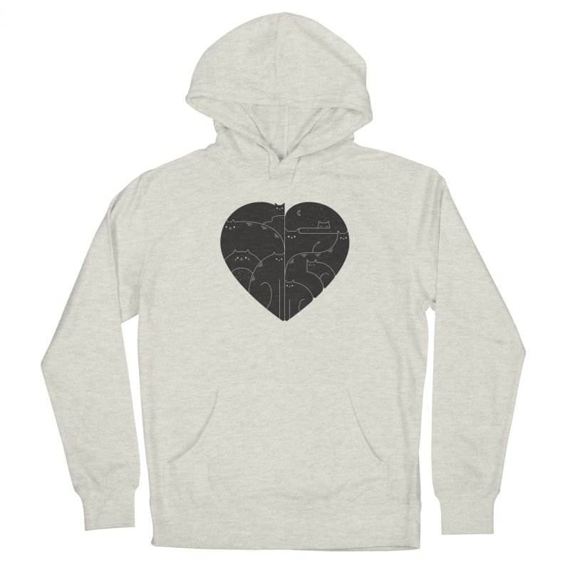 Love cats Men's Pullover Hoody by Arkady's print shop