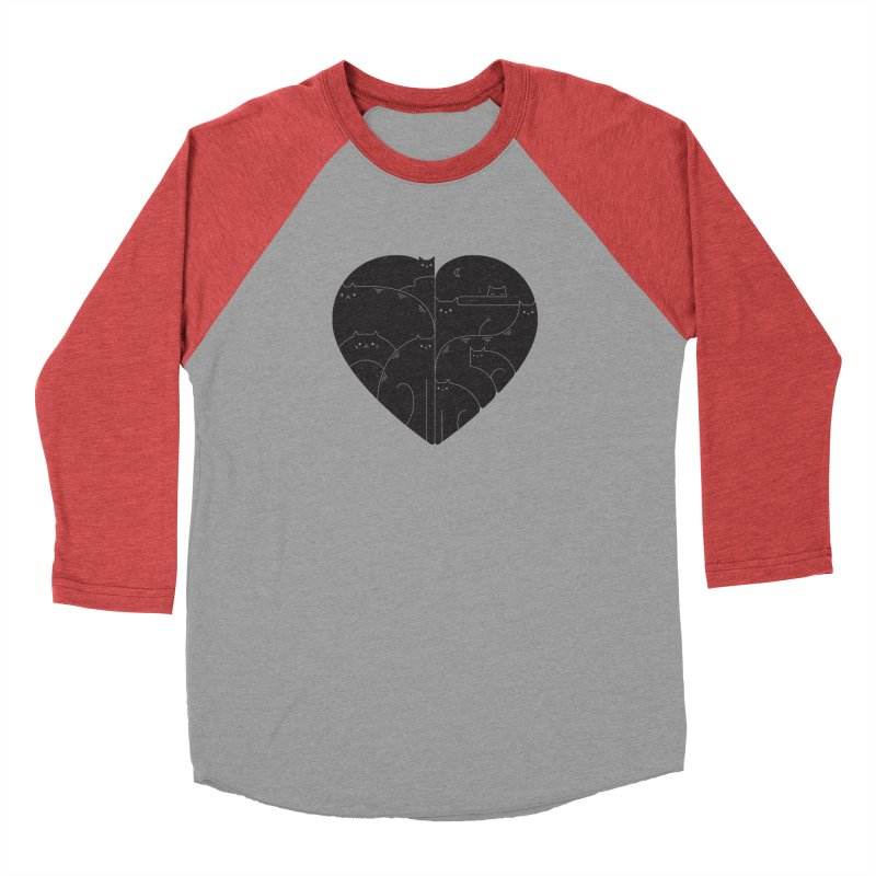 Love cats Men's Longsleeve T-Shirt by Arkady's print shop