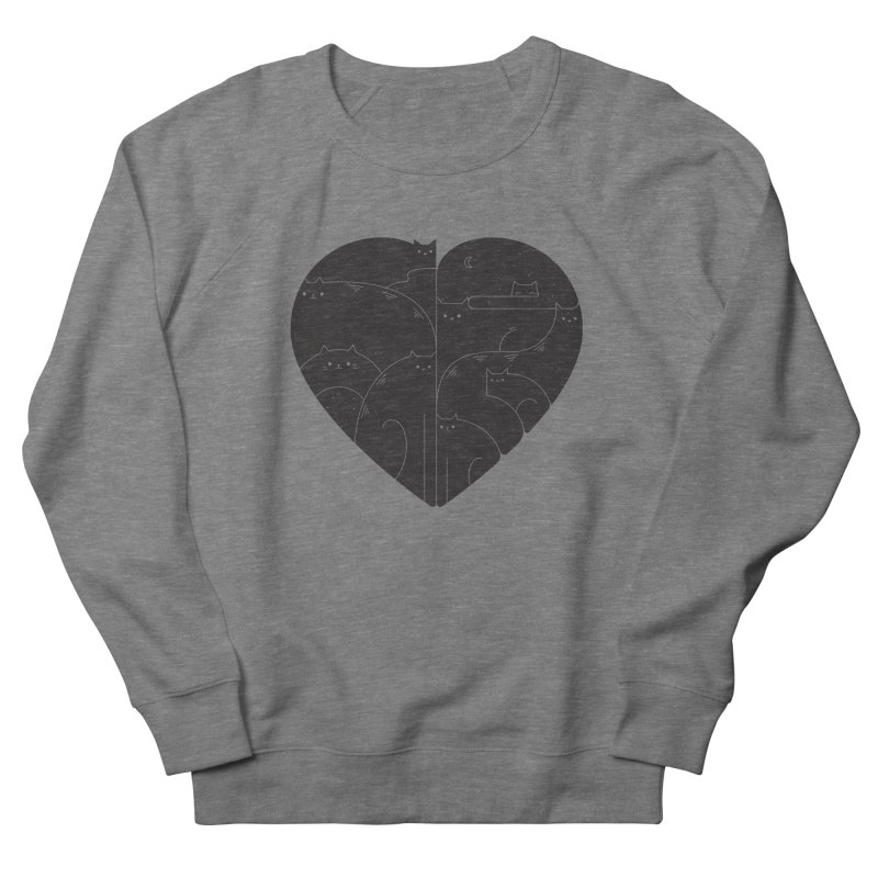 Love cats Men's Sweatshirt by Arkady's print shop