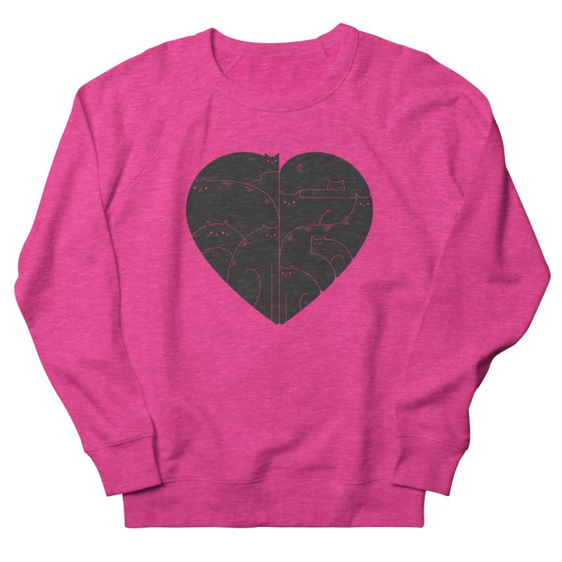 Love cats Men's Sweatshirt by Arkady's print shop