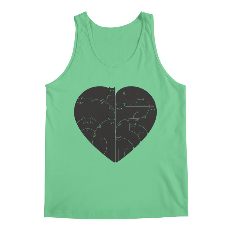 Love cats Men's Tank by Arkady's print shop