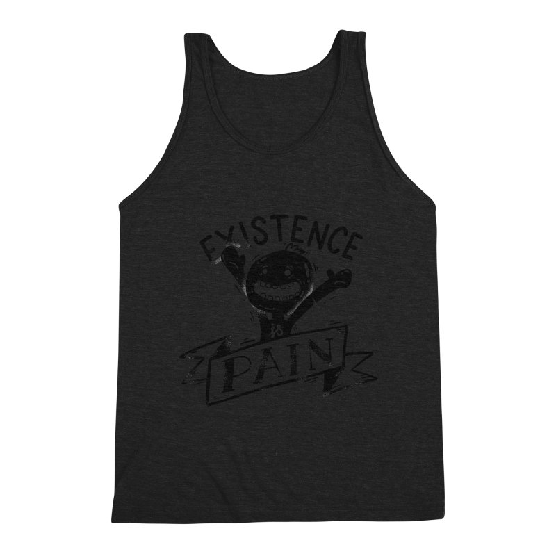 Existence is Pain Men's Tank by Arkady's print shop