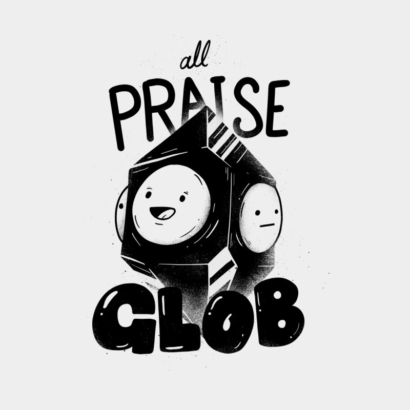 Praise Glob Men's T-Shirt by Arkady's print shop