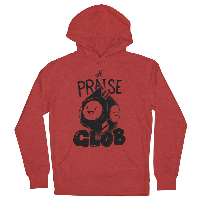 Praise Glob Women's French Terry Pullover Hoody by Arkady's print shop